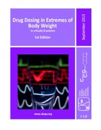 Drug dosing at extremes of body weight in ICU